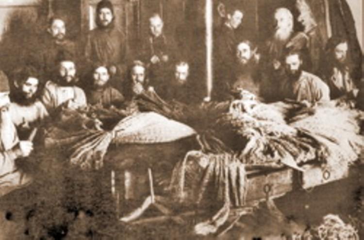 Православное духовенство в Соловецком лагере особого назначения. Конец 1920-х годов.