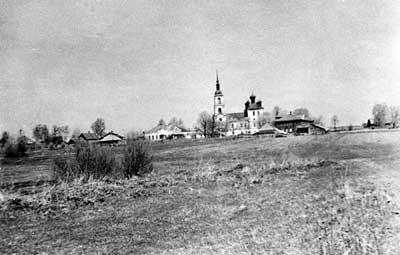 Храм св.Иоанна Предтечи в с.Шипилово (ныне не существует)
