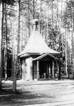 Часовня у храма прп.Иоанна Лествичника в пустыни